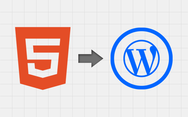 HTML to Wordpress migration