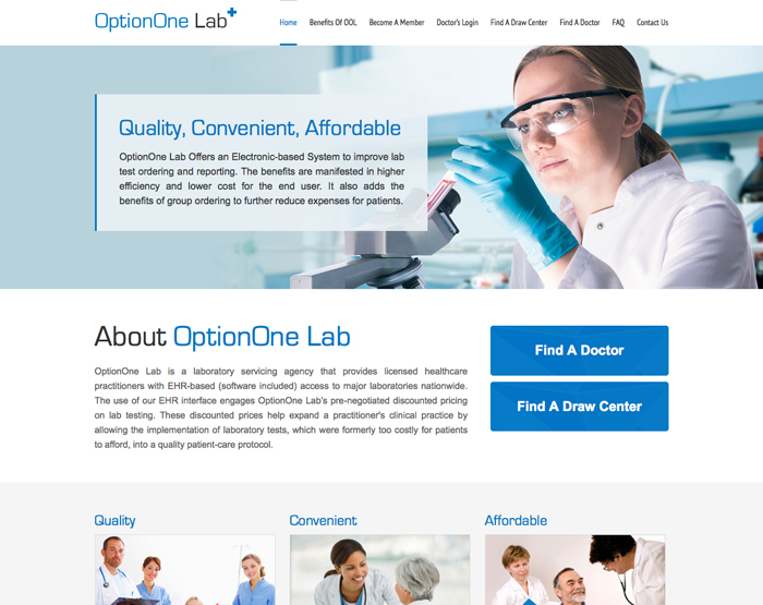 OptionOne Lab
