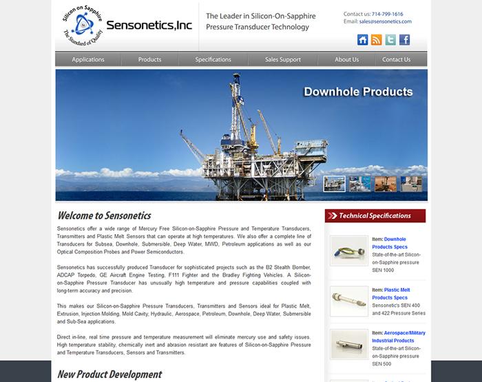 Sensonetics Inc