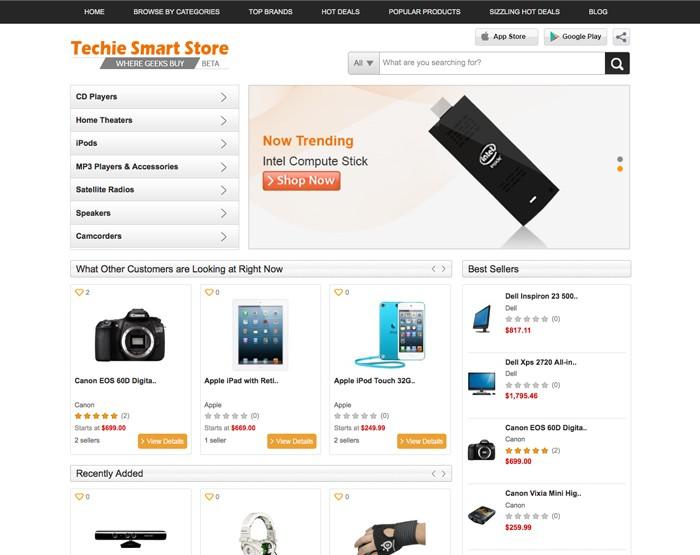 techie smart store