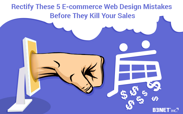 ecommerce design mistakes