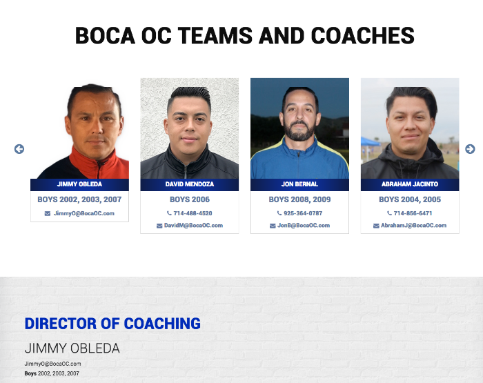 BOCA OC<br><small>(WordPress)</small>
