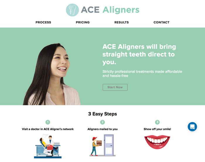 ACE Aligners<br><small>(WordPress)</small>